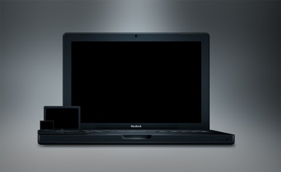 The MacBook In Black