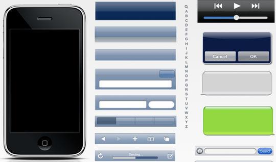 iPhone 3G Stencil