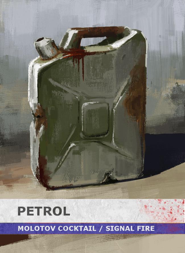 1 Survives Item Card - Petrol Cannister