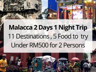 Malacca 2 Days 1 Night Trip