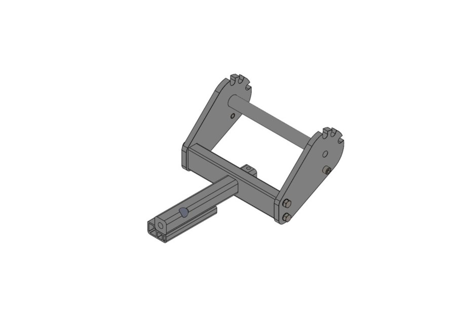 """1.25"""" Hitch Bar with Side Plates"""