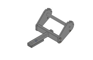 "1.25"" Hitch Bar with Side Plates"