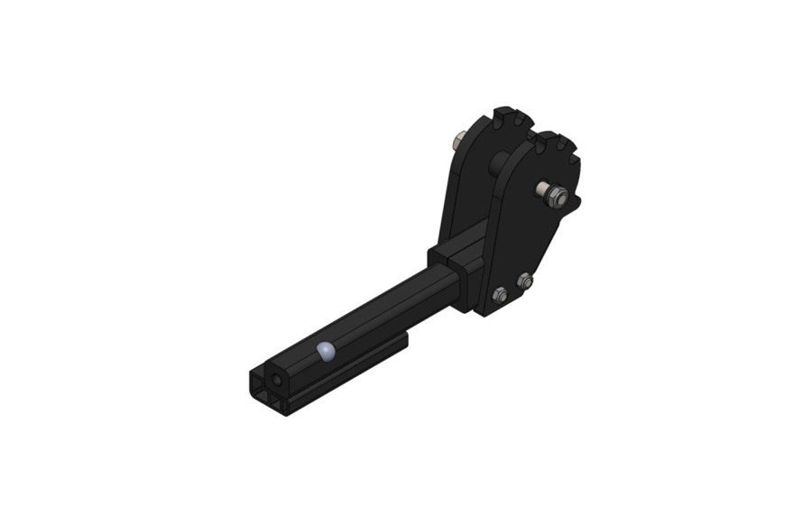 """1.25"""" Hitch Bar with Side Plate, Equip-D"""
