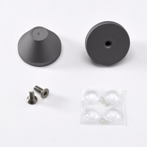 DIY LJD61UP 2-Plate Stainless Steel Keyboard Kit-2435