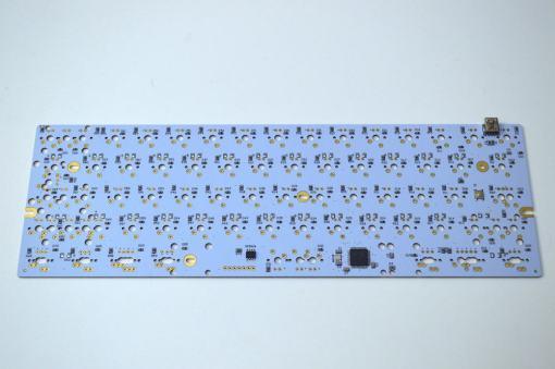 DIY LJD61UP Universal 2-Plate Stainless Steel Keyboard Kit-2460