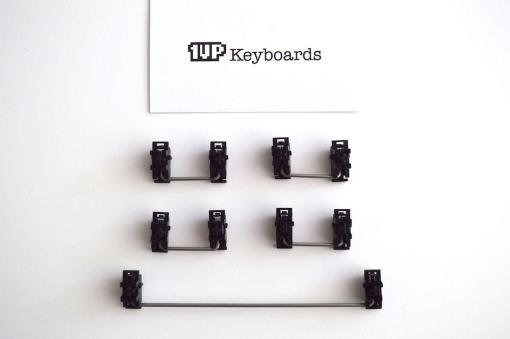 DIY LJD61UP Universal 2-Plate Stainless Steel Keyboard Kit-2445