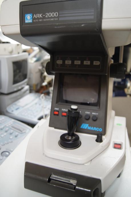Used Marco Nidek Ark 2000 Auto Refractor Keratometer For