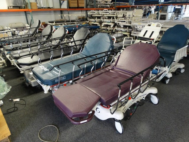 Stryker Hill Rom and Hausted stretchers for sale