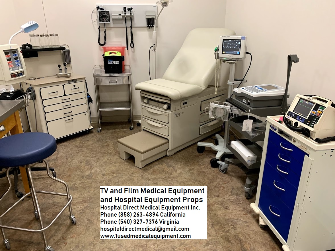 Hospital and Medical Equipment Props for Film TV and Theater | Used
