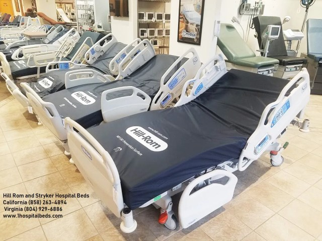 Hill Rom and Stryker Hospital Beds sold used-refurbished and reconditioned