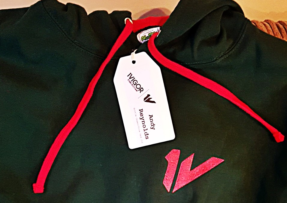 They're here! #1VHoodie