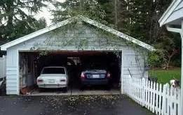Rêver d'être dans un garage