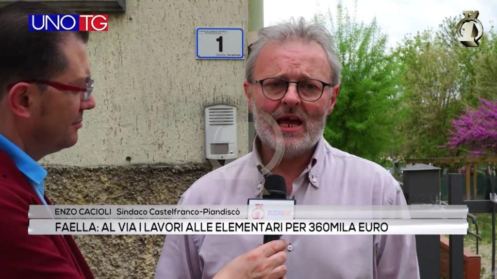 Faella: al via i lavori delle elementari per 360mila euro