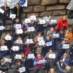 """#Giulemanidallinformazione. In piazza con i giornalisti. Rossi: """"Libertà di stampa un valore per tutti"""""""