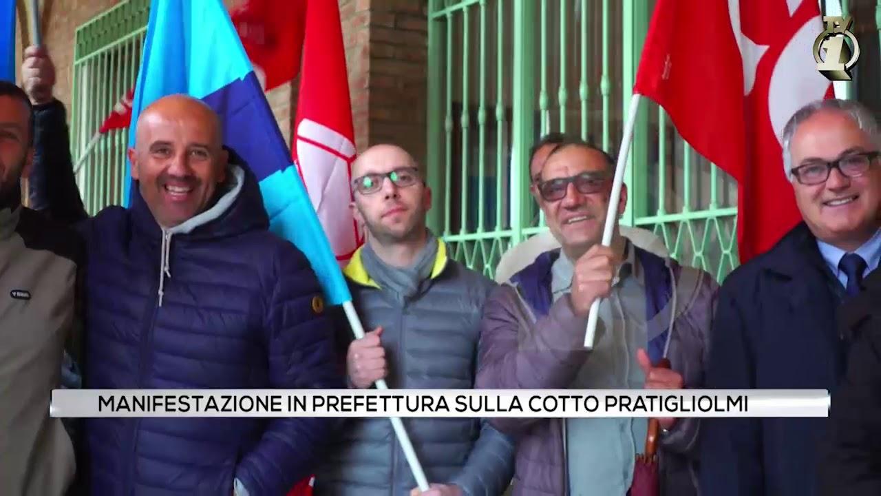 Manifestazione in Prefettura per la Cotto Pratigliolmi