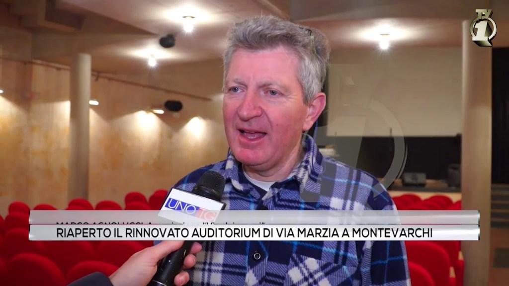Riaperto il rinnovato auditorium di via Marzia a Montevarchi