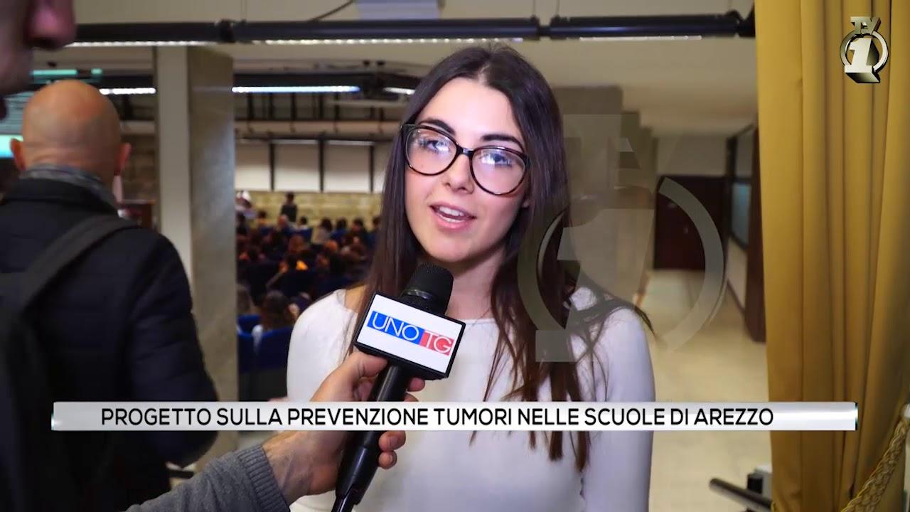 Progetto per la prevenzione tumori nelle scuole di Arezzo