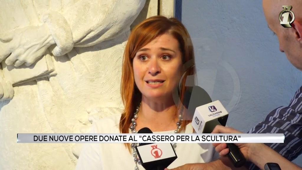 Due nuove opere donate al Cassero per la scultura