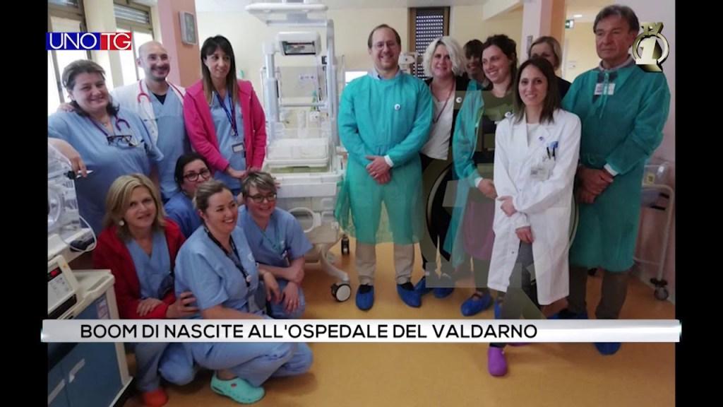 Boom di nascite all'ospedale del Valdarno