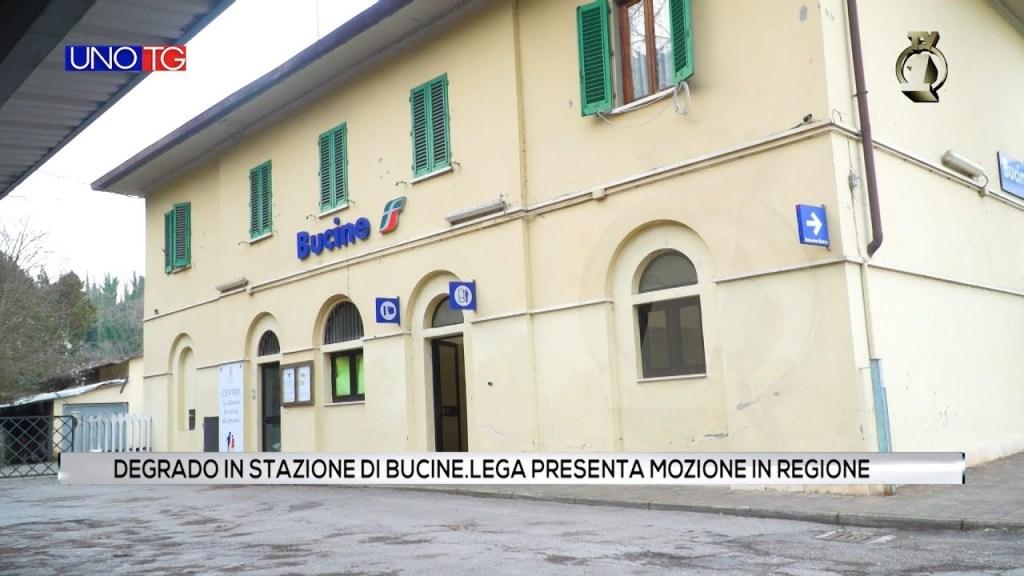 Degrado in stazione di Bucine. Lega presenta mozione in Regione.