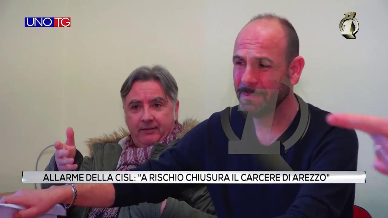"""Allarme della CISL: """"A rischio chiusura il carcere di Arezzo"""""""