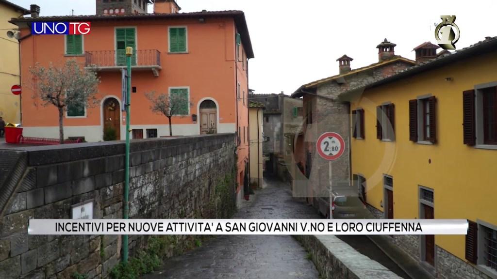 Incentivi per nuove attività a San Giovanni V.no e Loro Ciuffenna