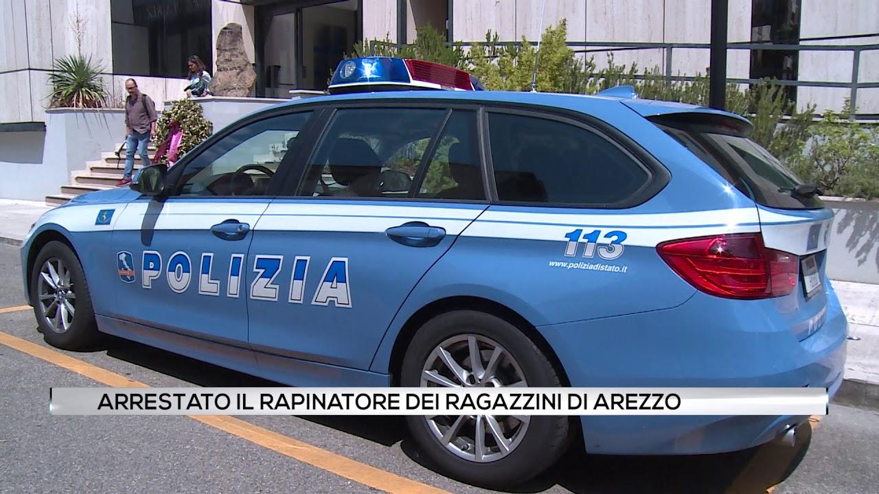 Arrestato il rapinatore dei ragazzini di Arezzo