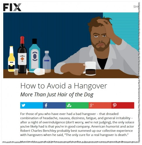 Fix.com hangovers