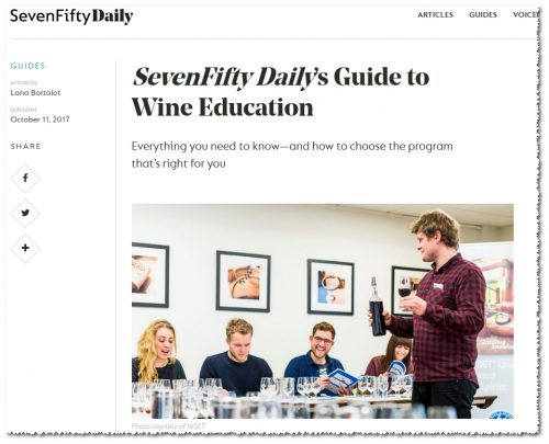 SevenFifty Daily's Guide to Wine Education