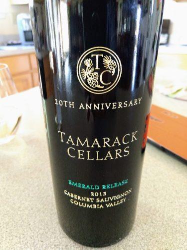 Tamarack Cellars Twenty Annvrs Emerald Cabernet Sauvignon Columbia Valley