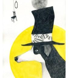 top hat hund