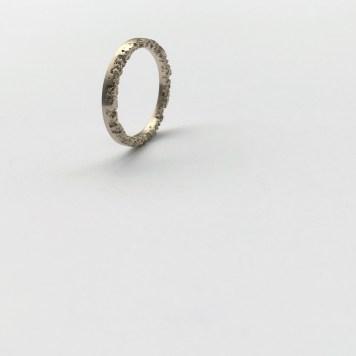 The grass ring 14 kt guld