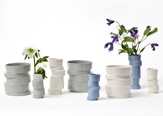 Lars Rank – Stabel vase høj