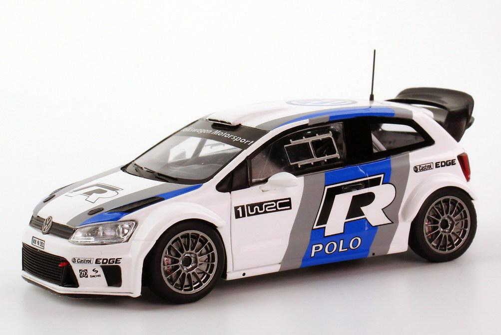 Vw Polo R Wrc 2011 2012 Test Car Werbemodell Spark