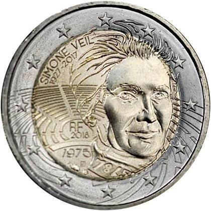 piece 2 euro commemorative par annee et par pays