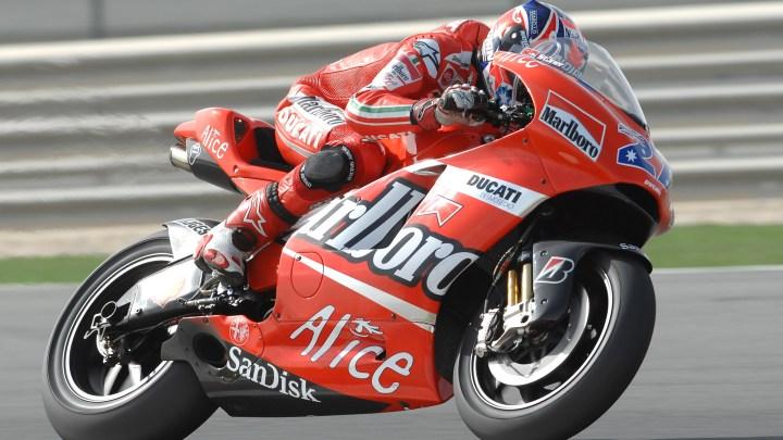 Casey Stoner torna in Ducati nel ruolo di testimonial e collaudatore