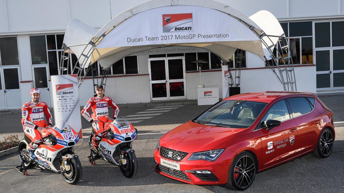 Ducati e Seat a tutto gas nel campionato mondiale MotoGP