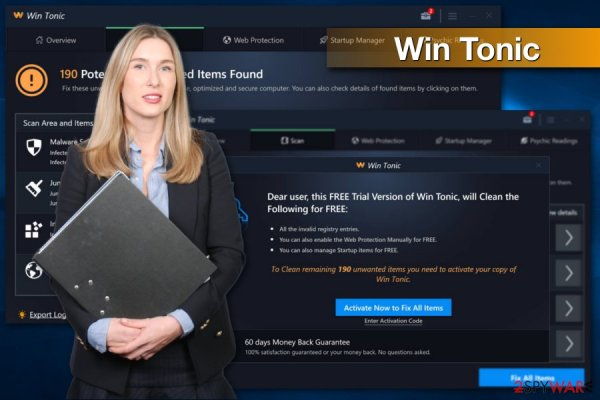 Remove Win Tonic (Removal Guide) - Improved Instructions