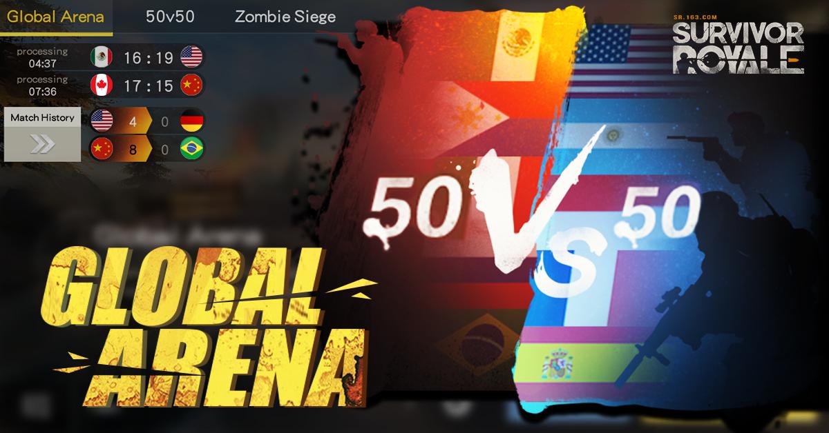 《Survivor Royale》推50V50世界擂臺 與本地玩家並肩作戰 – 2000Fun遊戲資訊網.