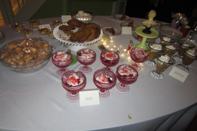 the Epic Dessert table