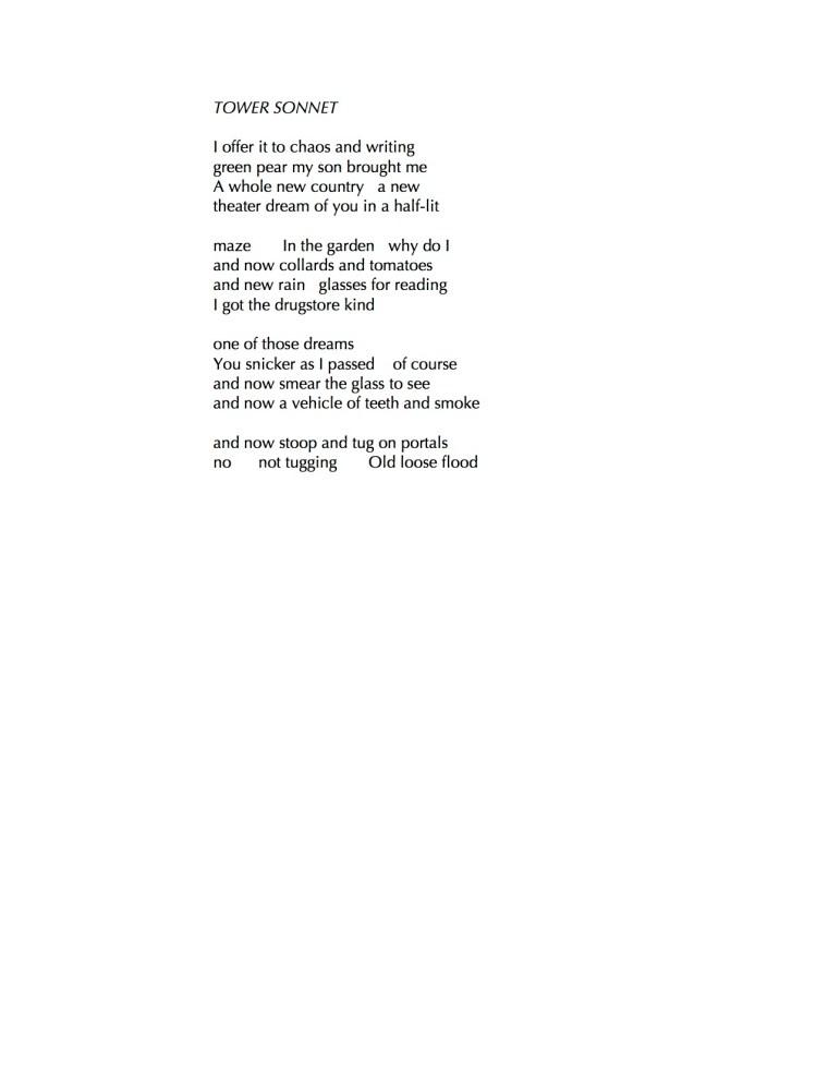 tower-sonnet