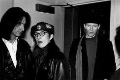 Lenny Kaye, Syd Straw, Jim Carroll - Photo credit: Jacob Burckhardt, 1993