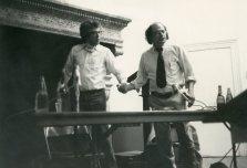 Kenneth Koch & Allen Ginsberg, 1979