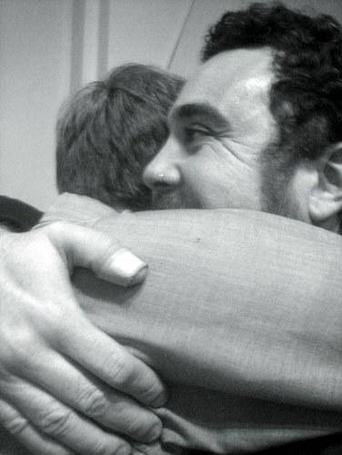 John Coletti, hugger