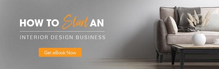 How to start an interior design business ebook