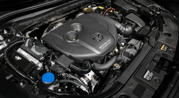 2020 Mazda CX-5 Skyactiv Engine