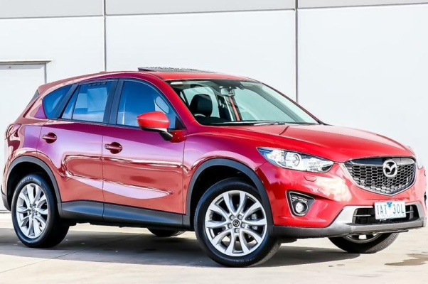 2021 Mazda CX-5 Grand Touring Redesign