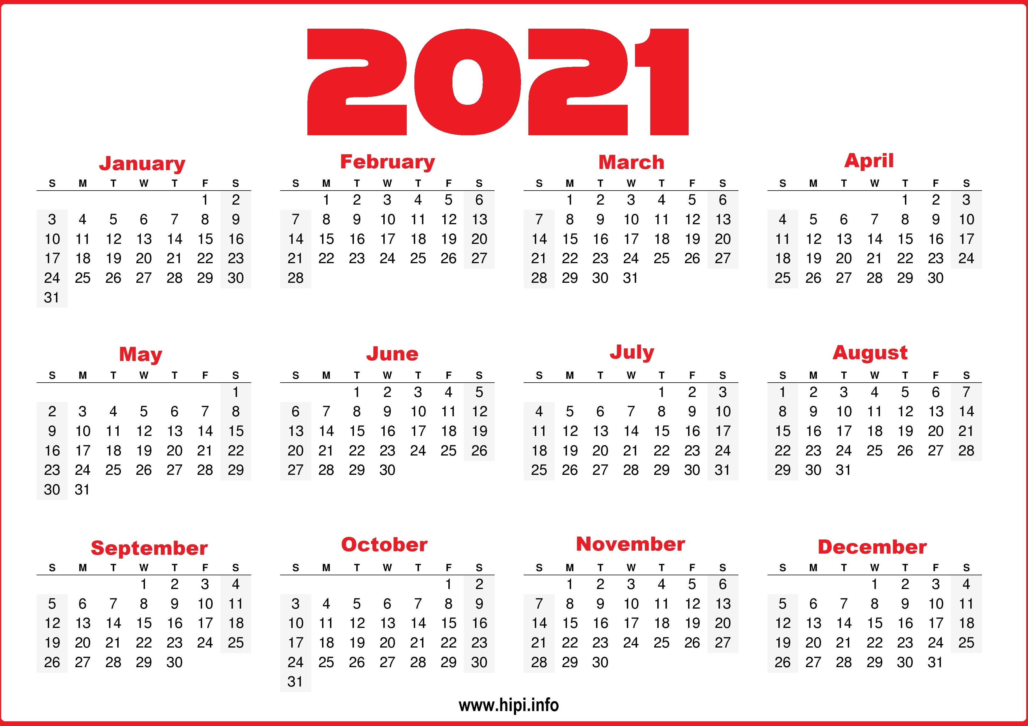 We tested the best photo calendar services so that you can pick the right company to trust with your memories. Free Printable 12 Month 2021 Calendar With Lines ...