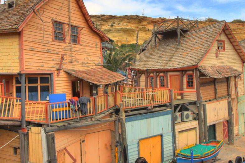Popeye's village is real in Malta