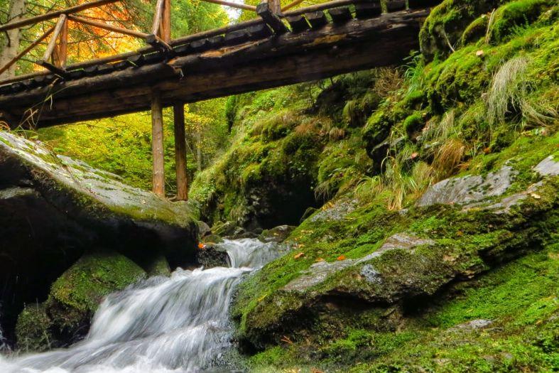 The Canyon of Waterfalls near Smolyan, Bulgaria